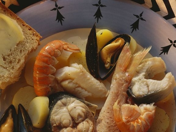 Französischer Fisch-Kartoffel-Eintopf