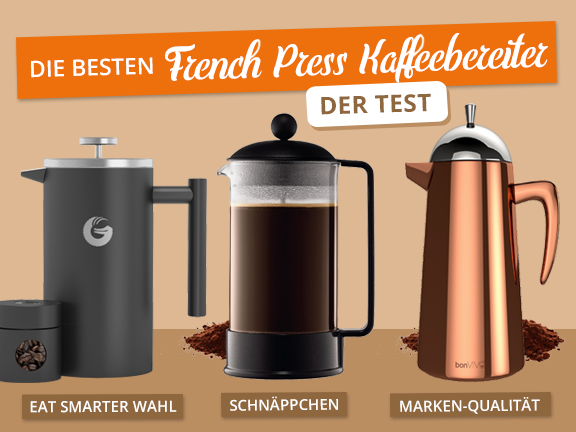 French Press Kaffeebereiter - Übersicht