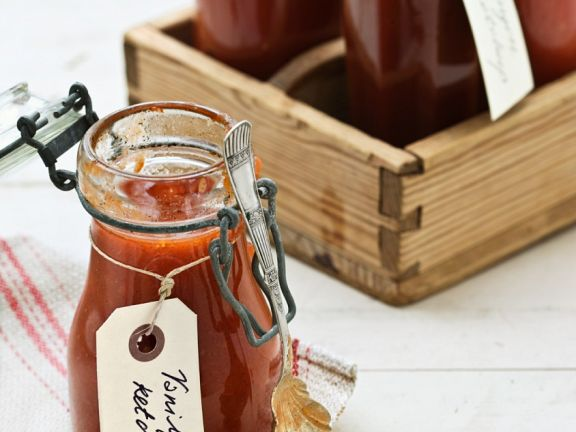 Frisches Tomatenketchup
