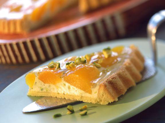 Frischkäse-Aprikosen-Tarte