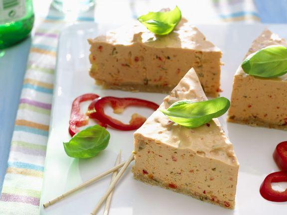 Frischkäse-Paprika-Torte
