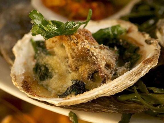 Frittierte Austern