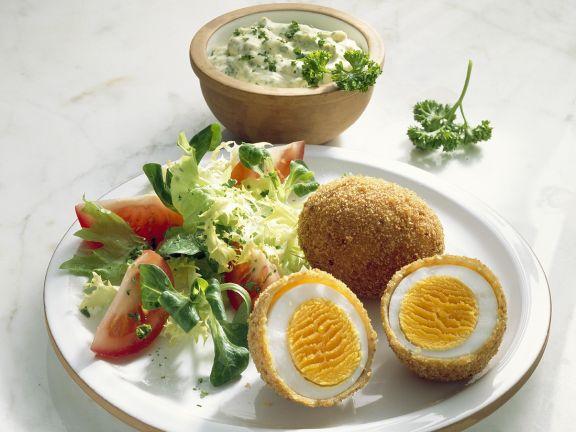 Frittierte Eier