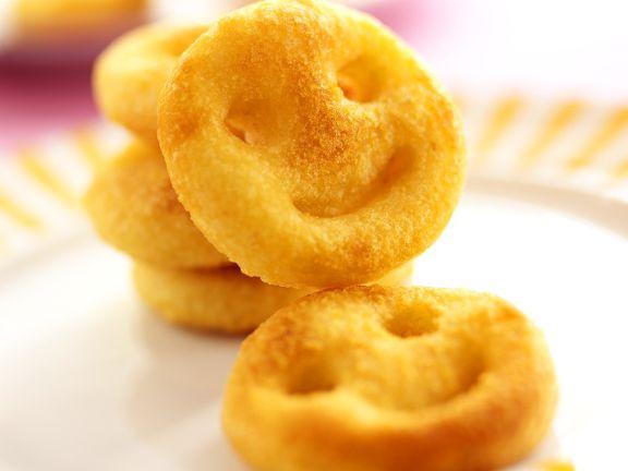 Frittierte Kartoffeltaler