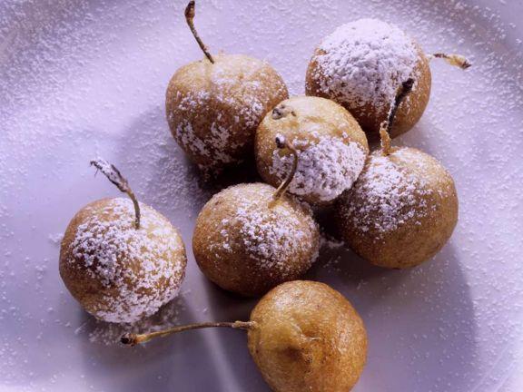 Frittierte Kirschen