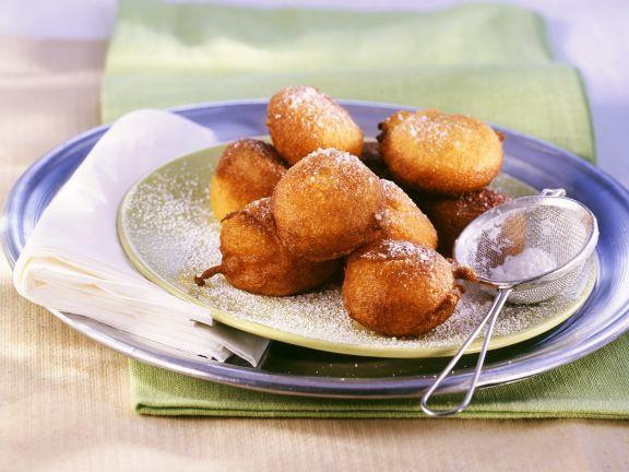 Frittierte Kürbisbällchen