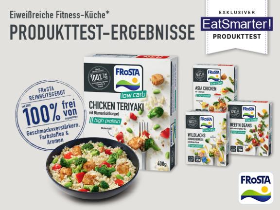 FRoSTA Produkttest-Ergebnisse