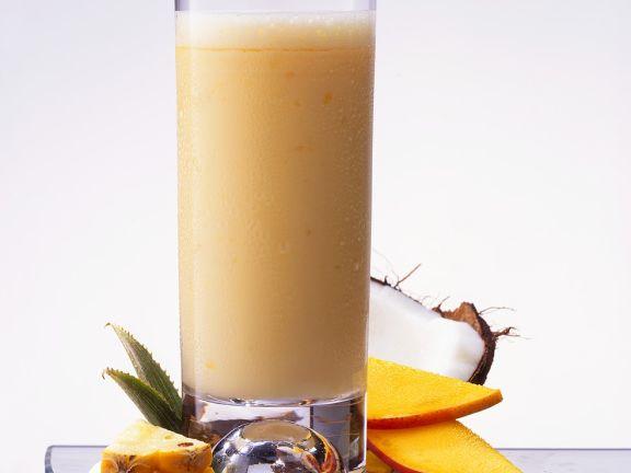 Frucht-Kokosshake