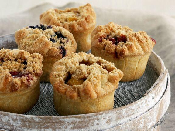 Frucht-Muffins mit Streuseln