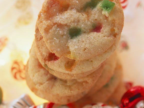 Fruchtbonbon-Cookies