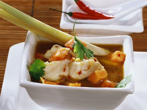 Fruchtige Fischsuppe