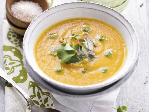 Kürbissuppe mit Orange