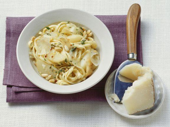 Fruchtige Pasta auf toskanische Art