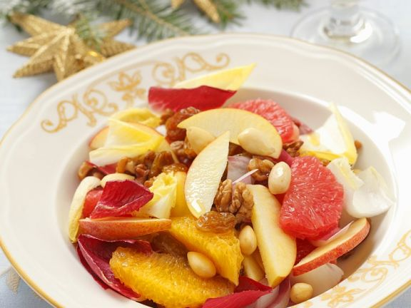 Fruchtiger Chicoréesalat