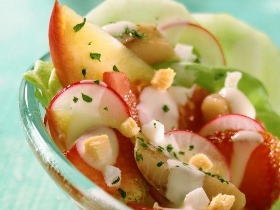fruchtiger Fischsalat