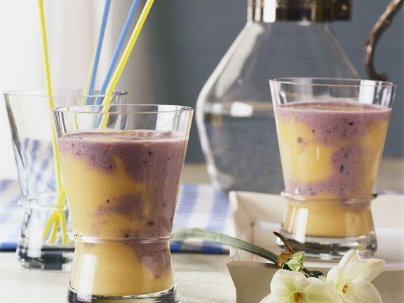 Fruchtiger Joghurtdrink