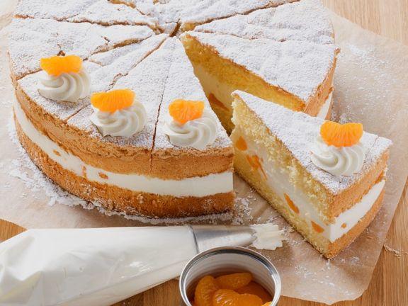 Fruchtiger Käse-Sahne-Kuchen