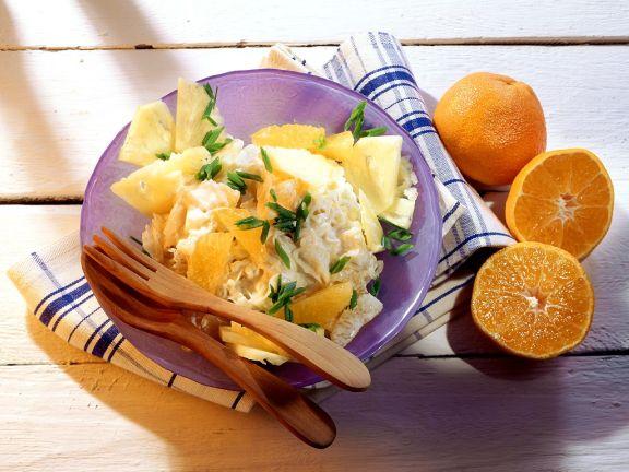 Fruchtiger Krautsalat