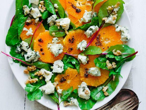 Fruchtiger Mangoldsalat