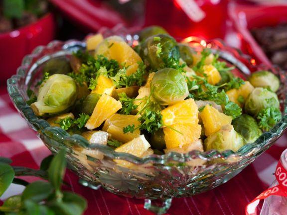 Fruchtiger Rosenkohlsalat