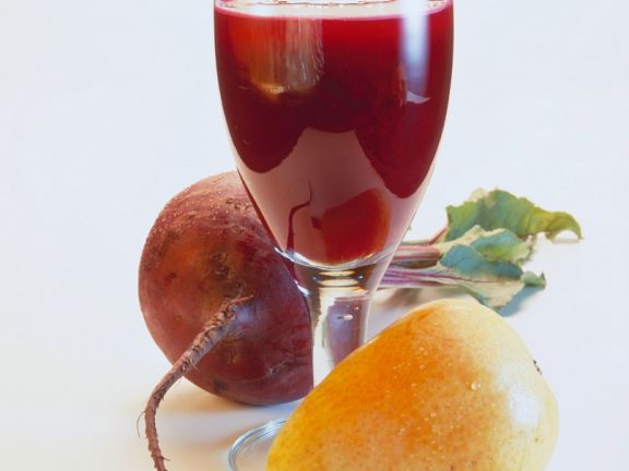 Fruchtiger Rote Bete Saft