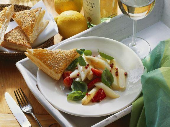 Fruchtiger Spargelsalat