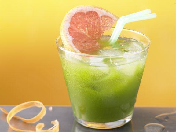 Fruchtiger Spinat-Drink
