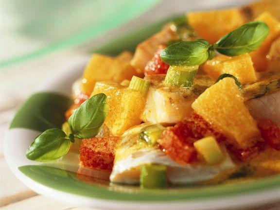 Fruchtiges Fisch-Curry