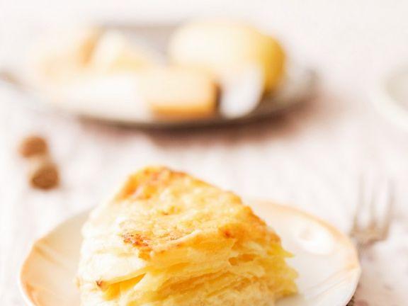 Fruchtiges Kartoffelgratin