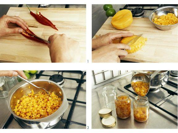 Fruchtiges Mangochutney