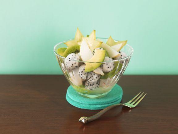 Fruchtsalat mit exotischem Obst