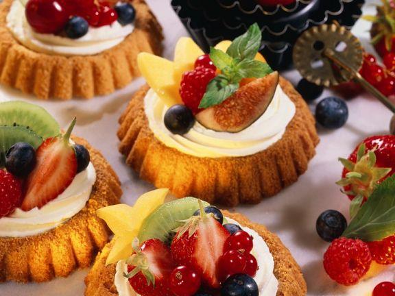 Früchte-Törtchen