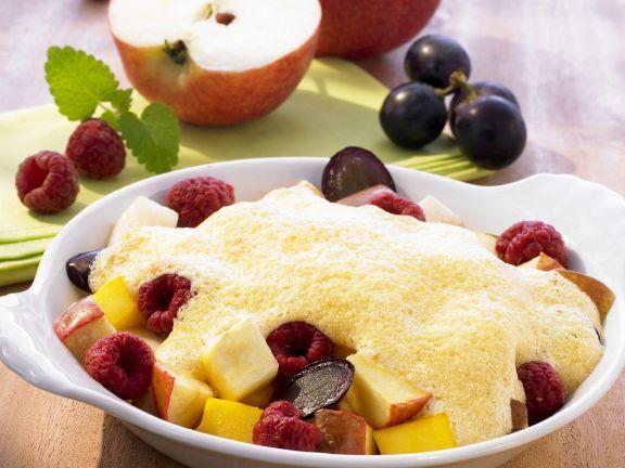 Früchteauflauf