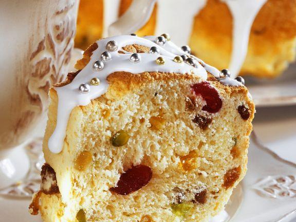 Früchtekuchen mit Joghurt