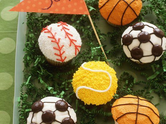 Fußball-Muffins