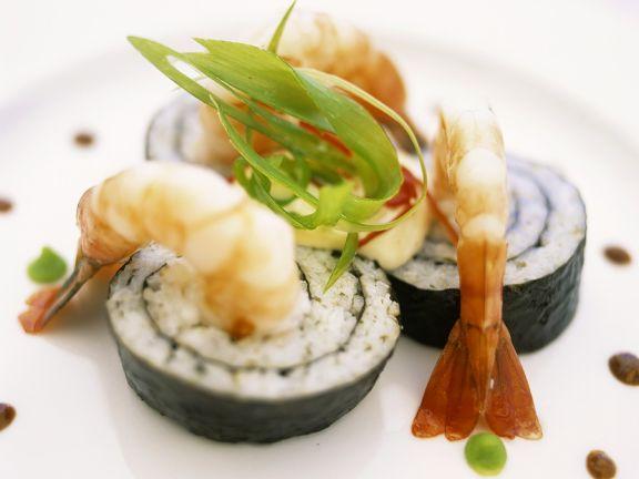 Garnelen-Sushi