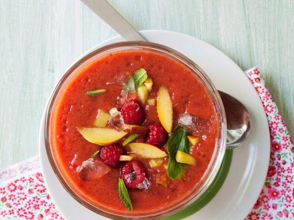 Gazpacho mit Früchten