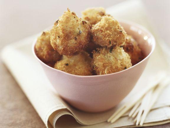 Gebackene Parmesan-Champignons