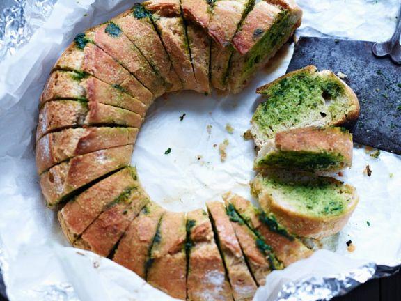 Gebackenes Kräuter-Brot