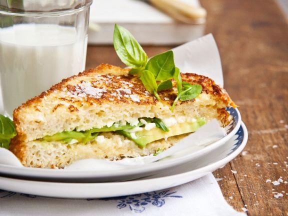 Gebratener Avocado-Toast