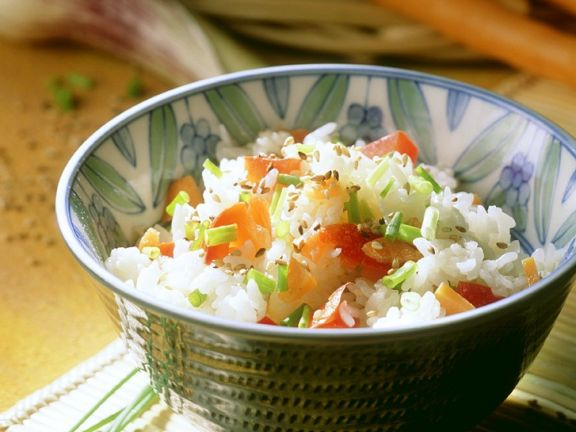 Gebratener Reis mit Gemüse