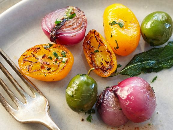 Gebratenes mediterranes Gemüse