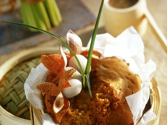 Gedämpfter Vollkornkuchen