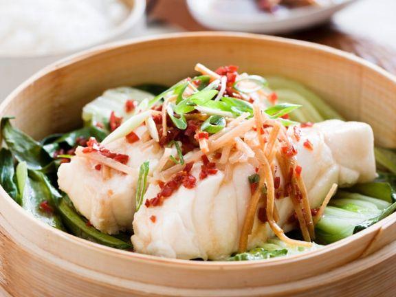 Gedampftes Fischfilet Im Bambuskorb Rezept Eat Smarter