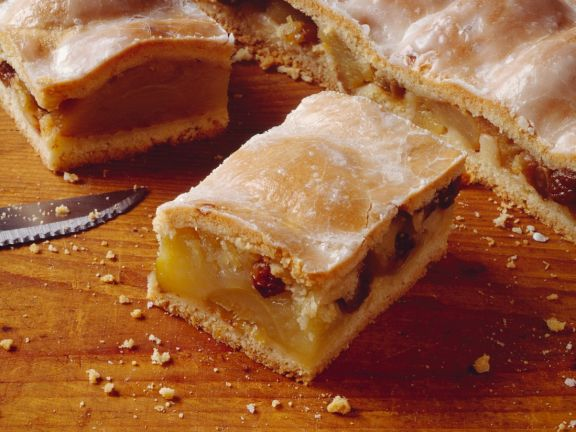 Gedeckter Apfel Blechkuchen Rezept Eat Smarter