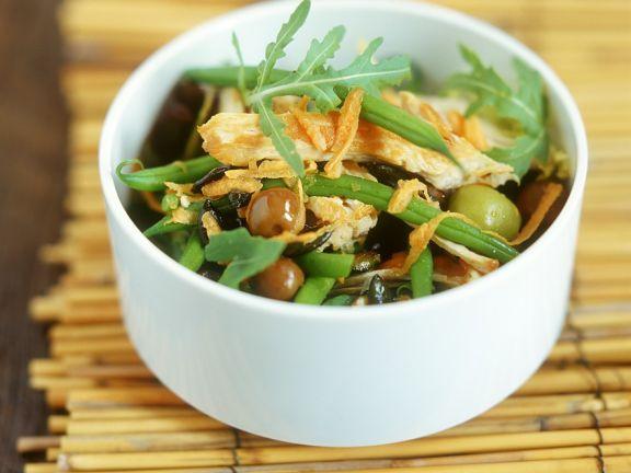 Geflügel-Bohnensalat