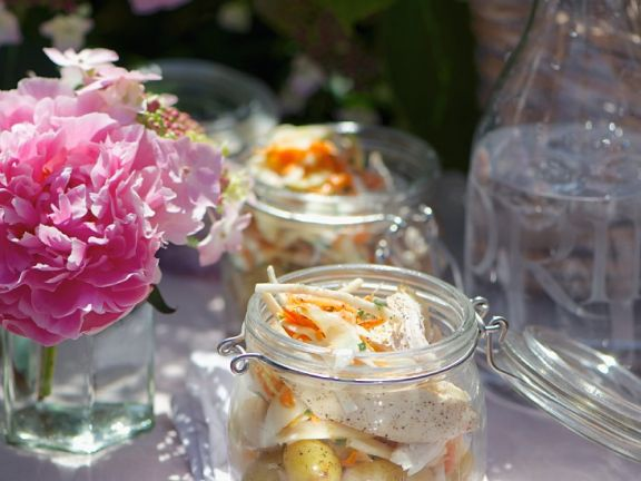 Geflügel-Kartoffelsalat