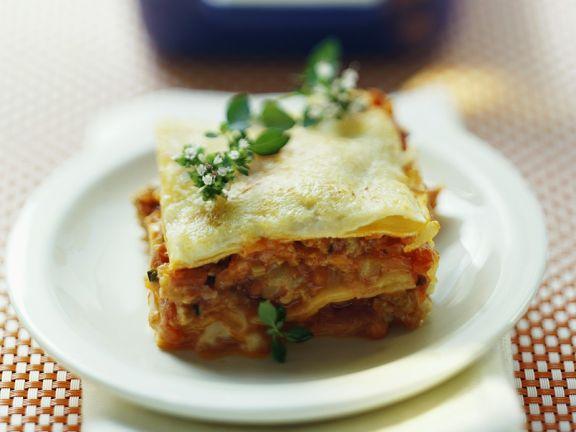 Geflügel-Lasagne