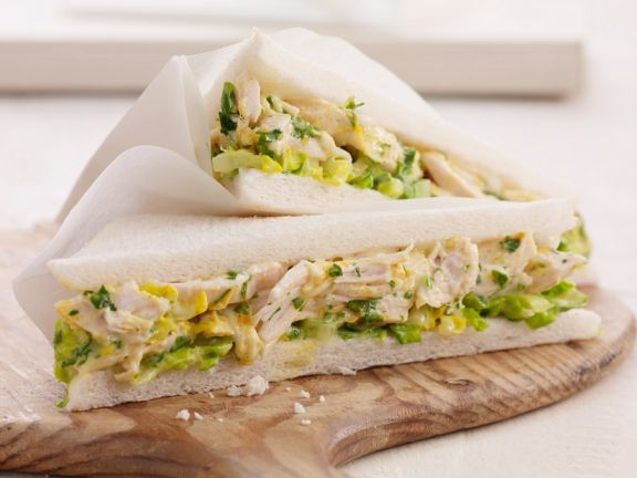 Geflügel-Sandwiches