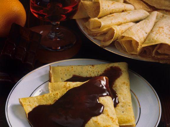 Gefüllte Pfannkuchen nach ungarischer Art